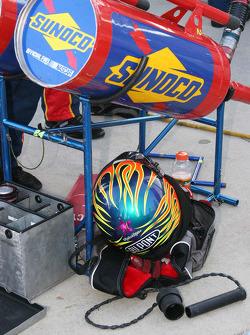 Jeff Gordon's gas man's equipment