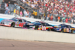 Sterling Marlin, Johnny Sauter and Michael Waltrip