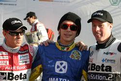 Rinaldo Capello, Valentino Rossi and Colin McRae