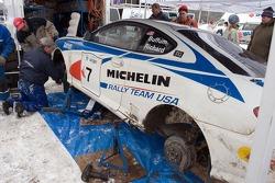 Libra Racing team service area