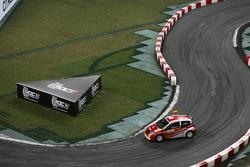Demo run for Junior World Rally champions Daniel Sordo and Marc Marti