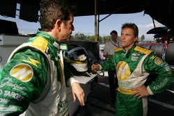 Cort Wagner and Stefan Johansson