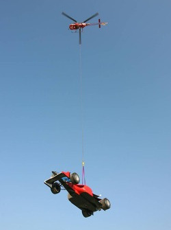 A1 helicopter recovery system demonstration
