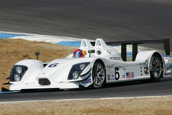 Lucas Luhr tests the Porsche RS Spyder-LMP2
