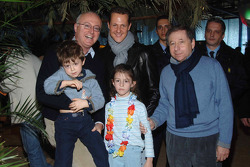 Jean Todt, Michael Schumacher ve Mario Micheli