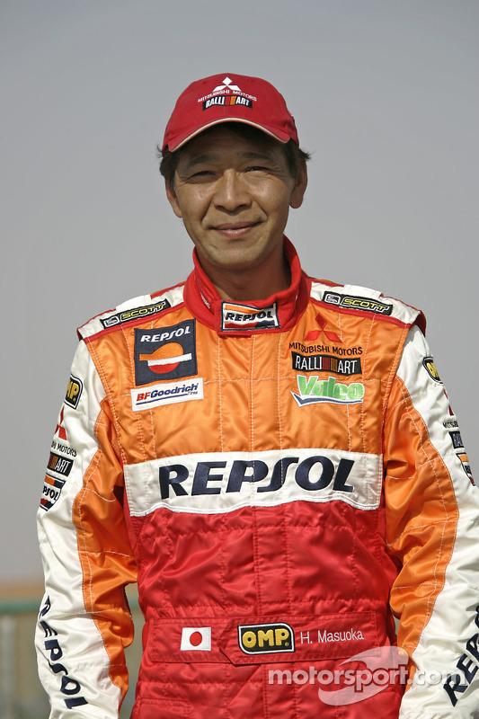 L'équipe Repsol Mitsubishi Ralliart : Hiroshi Masuoka
