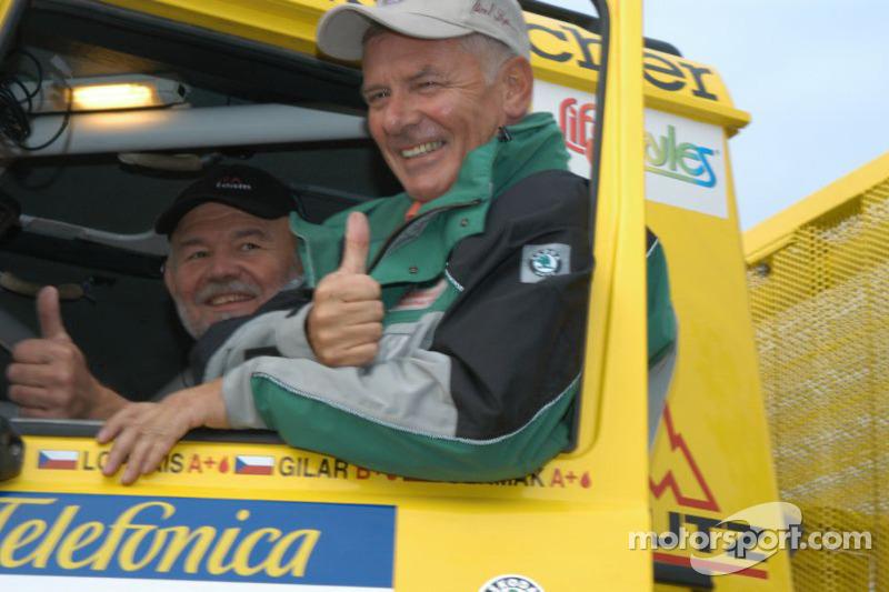 Equipe Loprais Tatra: Karel Loprais et Petr Gilar