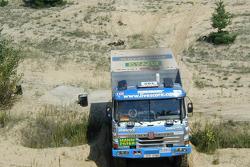 Tomas Tomecek Letka Racing Team: Tomas Tomecek, Vojtech Moravek and Vlastimil Buchtyar test the Tatra 815 Dakar Terrno