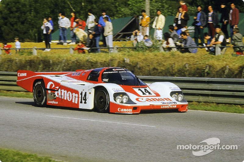 #14 Richard Lloyd Racing Porsche 956: Jonathan Palmer, James Weaver, Richard Lloyd