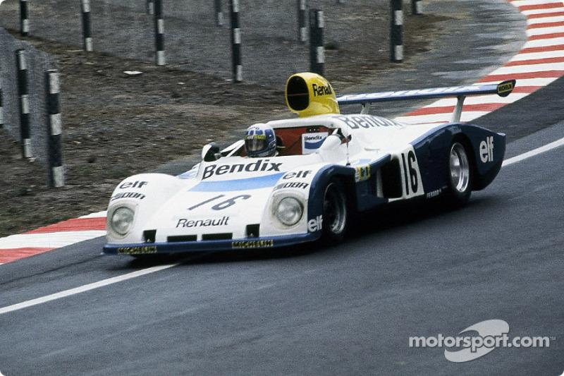 #16 Equipe de Chaunac Renault Alpine A442: Didier Pironi, René Arnoux, Guy Fréquelin
