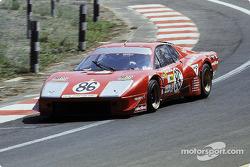 #86 North American Racing Team Ferrari 365 GT4 BB: François Migault, Lucien Guitteny, Florian Vetsch