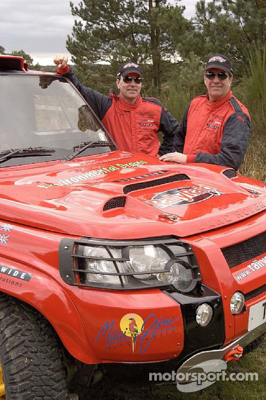 Team Rally Raid UK: Paul Green et Martin Coulson