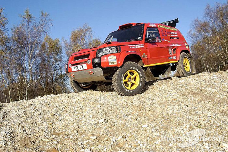 Team Rally Raid UK: le Rally Raid UK Land Rover