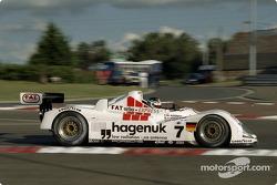 #7 Joest Racing TWR Porsche WSC 95: Микеле Альборето, Том Кристенсен, Сткфан Йоханссон