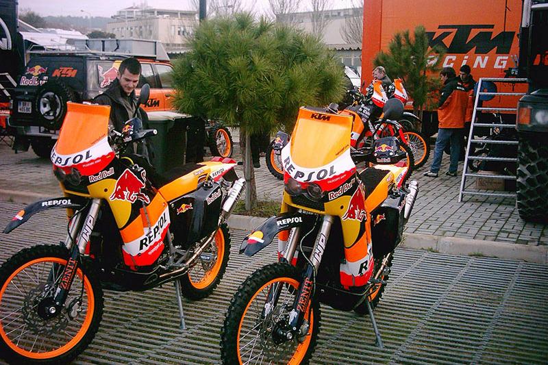 Motos de Repsol KTM