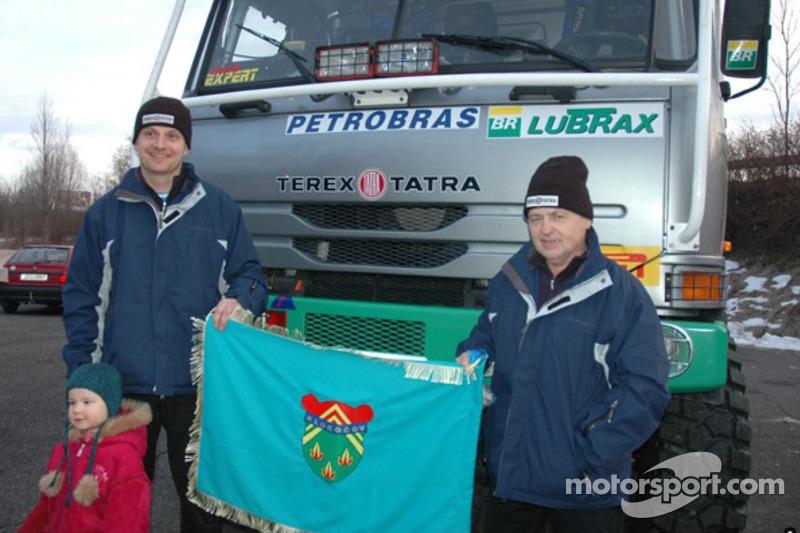Equipe Tomas Tomecek Letka Racing quitte Lisbonne: Tomas Tomecek et Vlastimil Buchtyar