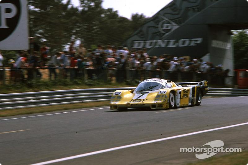 #7 Joest Racing Porsche 956: Klaus Ludwig, Paolo Barilla, John Winter