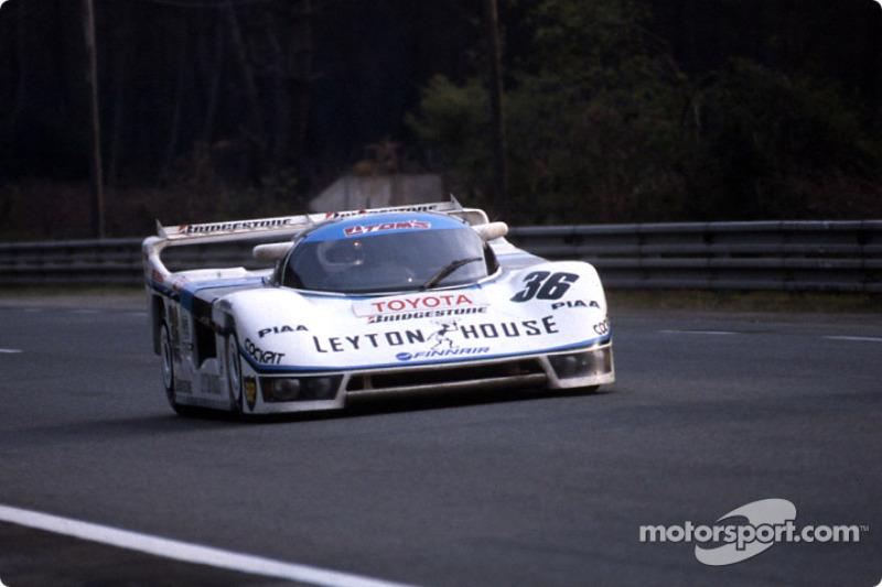 1985: #36 Tom's Team Tom's Toyota 85C: Satoru Nakajima, Masanori Sekiya, Kaoru Hoshino
