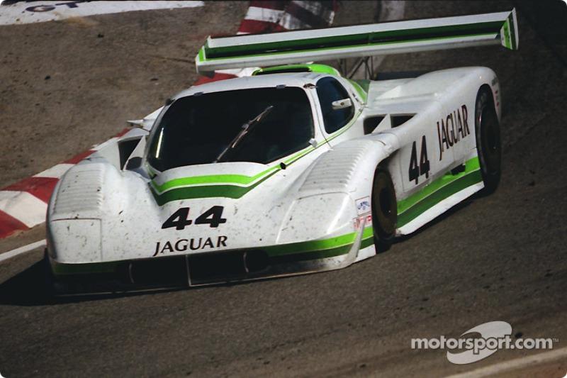#44 Group 44 Jaguar XJR-7: Hurley Haywood, John Morton