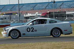 #02 Finlay Motorsports Mustang GT: Rob Finlay, Michael McDowell