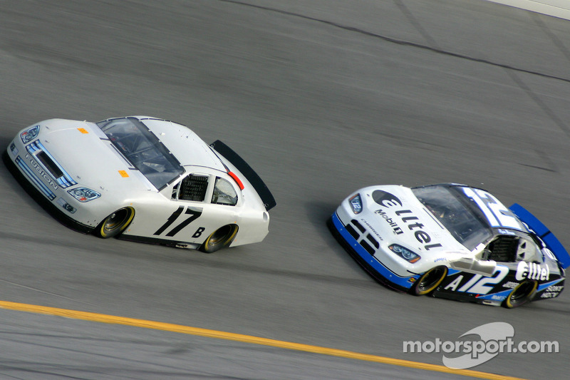 Matt Kenseth y Ryan Newman