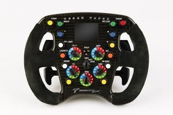 The steering wheel of Ralf Schumacher