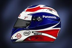 Helmet of Olivier Panis