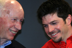 John Surtees and Patrick Carpentier