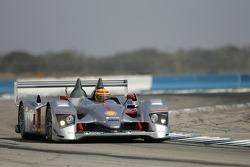 Audi Sport North America Audi R10: Frank Biela