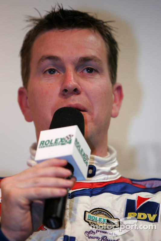 Conférence de presse de l'équipe CITGO Racing: Kevin McGarrity