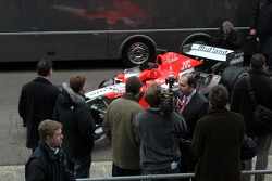 Media around the Midland MF1 Toyota M16