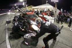 Pitstop for #4 Howard-Boss Motorsports Pontiac Crawford: Andy Wallace, Butch Leitzinger, Tony Stewart