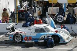 Pitstop for #40 Derhaag Motorsports Pontiac Riley: Chris Bingham, Randy Ruhlman, Ron Fellows, Justin Bell