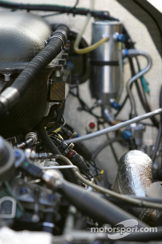 Détail du propulseur Porsche
