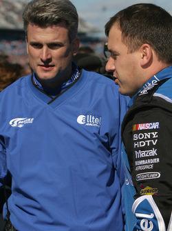 Matt Borland and Ryan Newman