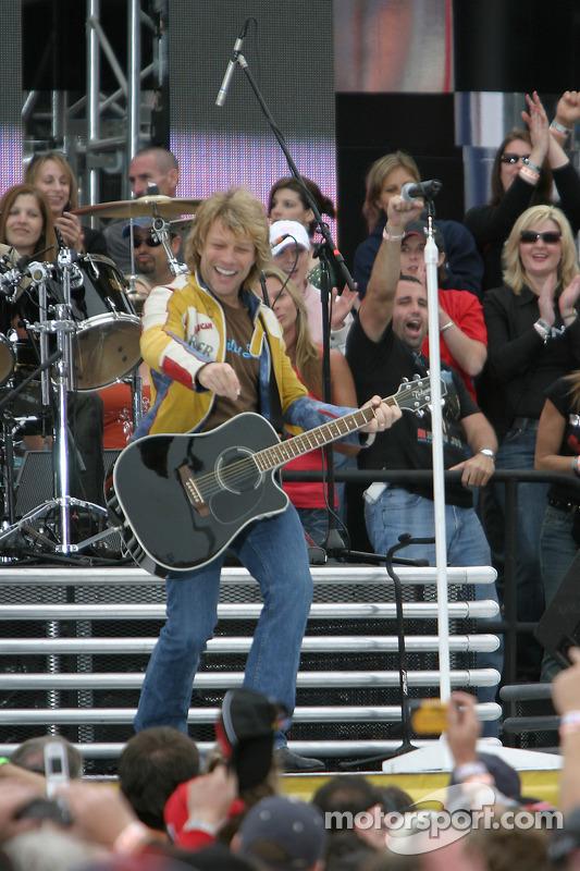 Le concert du groupe Bon Jovi