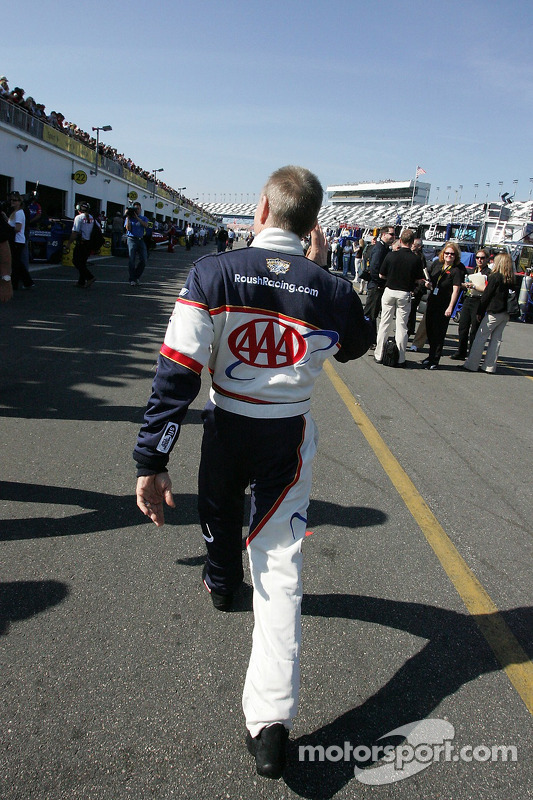 Mark Martin acclame ses fans