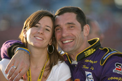 Max Papis with wife Tatiana