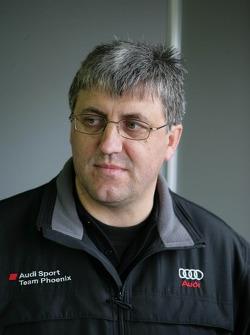 Ernst Moser, directeur de l'équipe d'Audi Sport Team Phoenix