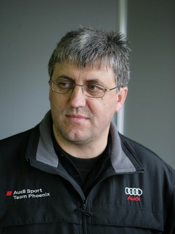 Ernst Moser, team director of Audi Sport Team Phoenix