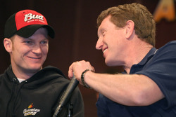 Dale Earnhardt Jr. and Bill Elliott