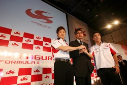 Yuji Ide, Aguri Suzuki ve Takuma Sato