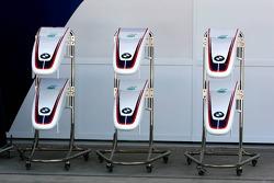 BMW Sauber nose cones