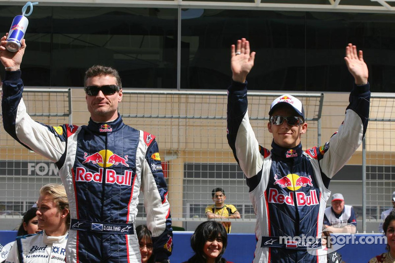 Presentación de pilotos: David Coulthard y Christian Klien