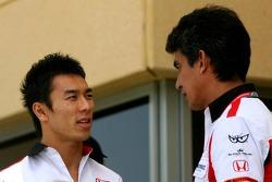 Takuma Sato et Aguri Suzuki