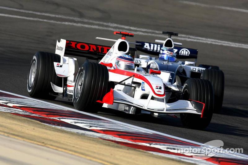 Takuma Sato ve Nico Rosberg