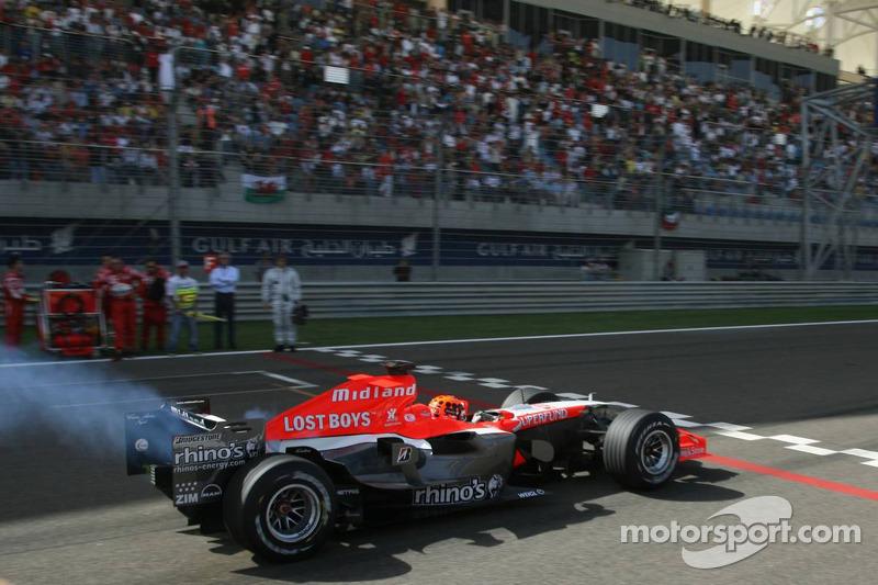 Christijan albers sur la grille de d part grand prix de - Grille de depart formule 1 ...