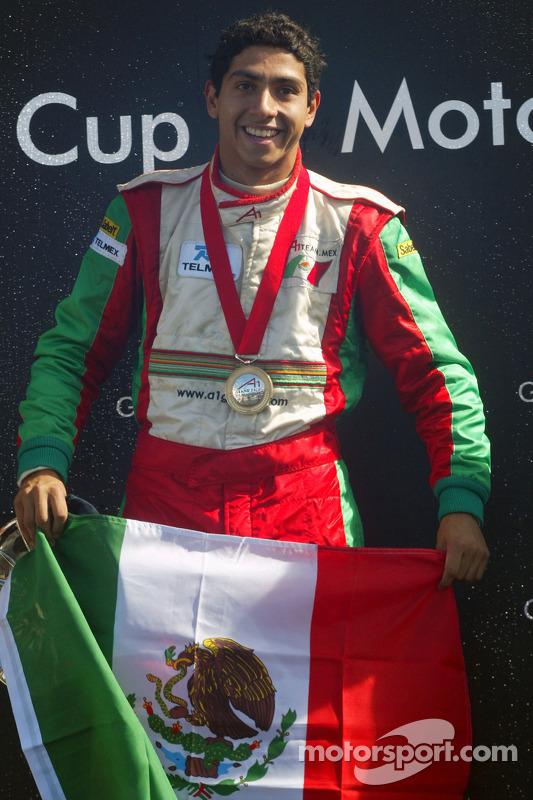 Podium: Salvador Duran