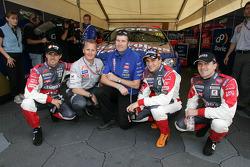 Tiago Monteiro, Johnny Herbert, Paul Cruickshank, Christijan Albers and Markus Winkelhock