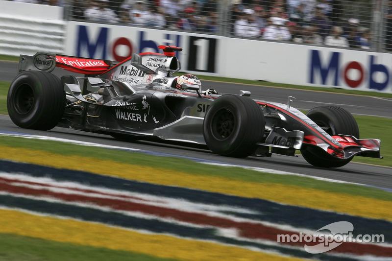 2006 : McLaren MP4-21, à moteur Mercedes